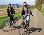 Mohamad Khalil (28) en zijn broer, Syrie